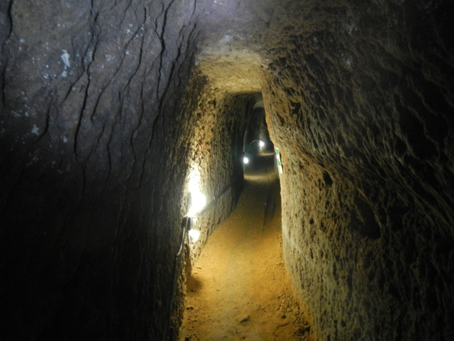 Catacombs galleries